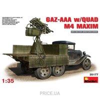 Фото MiniArt ГАЗ-ААА с пулеметами М4 Максим - 1:35 (MA35177)