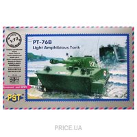 Фото PST Легкий плавающий танк ПТ-76Б (72053)