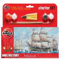 """Фото Airfix Подарочный набор с моделью британского корабля HMS """"Victory"""" (AIR55104)"""