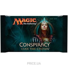 Фото Wizards of the Coast Magic: The Gathering. Conspiracy Take the Crown (eng) (бустер) (399826)