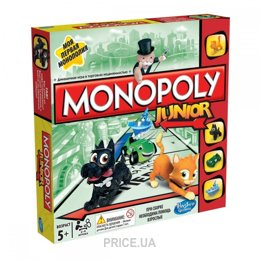 Фото Hasbro Моя первая монополия (A6984121)