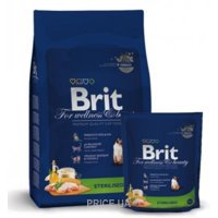 Фото Brit Premium Cat Sterilized 1,5 кг
