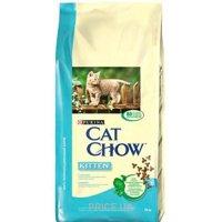 Фото Cat Chow Kitten с курицей 15 кг