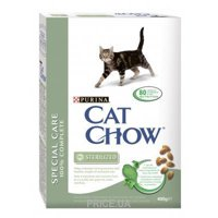 Фото Cat Chow Special Care Sterilized 15 кг
