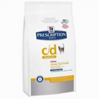 Фото Hill's Prescription Diet Feline c/d Multicare океаническая рыба 1,5 кг