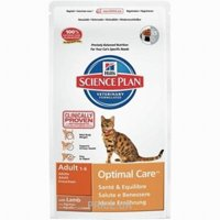 Фото Hill's Science Plan Feline Adult Optimal Care with Rabbit 0,4 кг