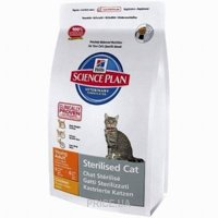 Фото Hill's Science Plan Feline Young Adult Sterilised Cat Chicken 3,5 кг