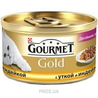 Фото Gourmet Gold с уткой, морковью и шпинатом по-французски 0,085 кг