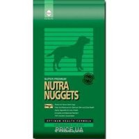 Фото Nutra Nuggets Performance Formula for dogs 15 кг