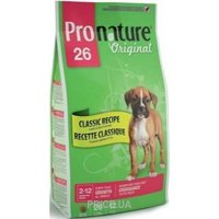 Фото Pronature 26 Original Puppy Lamb 20 кг