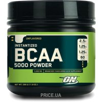 Фото Optimum Nutrition BCAA 5000 Powder 330-380g