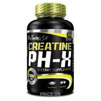 Фото BioTech Creatine pH-X 210 caps