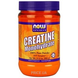 Фото Now Sports Creatine Monohydrate Pure Powder 600 g (21,2 oz)