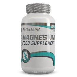 Фото BioTech Magnesium 120 caps