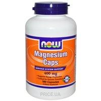 Фото Now Magnesium 400 mg 180 caps