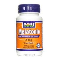 Фото Now Melatonin 3 mg 60 caps