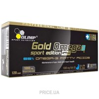 Фото Olimp Labs Gold Omega 3 Sport Edition 120 caps