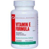 Фото Universal Nutrition Vitamin E Formula 100 caps
