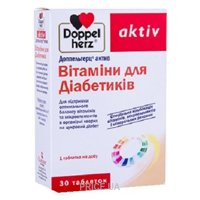 Фото Doppel herz Витамины для диабетиков №30