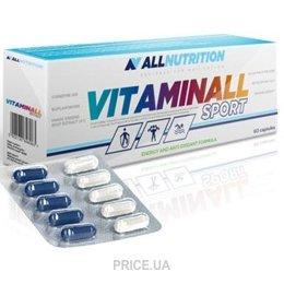 Фото All Nutrition VitaminAll Sport 60 caps