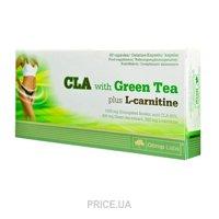 Фото Olimp CLA with Green Tea plus L-Carnitine 60 caps