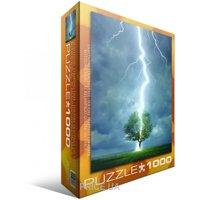 Фото EuroGraphics Молния ударяющая в дерево (6000-4570)