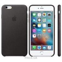 Фото Apple iPhone 6s Plus Leather Case - Black (MKXF2)