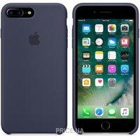 Фото Apple iPhone 7 Plus Silicone Case - Midnight Blue (MMQU2)