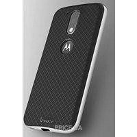 Фото IPAKY TPU+PC для Motorola Moto G4/Moto G4 Plus Black/Silver