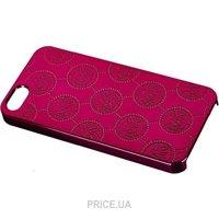 Фото Michael Kors Embossed Metallic Case for iPhone 5/5S/SE Red (MK-METL-REDD)