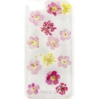 Фото Utty TPU Flower case iPhone 5/5S Pink Flowers