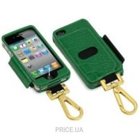 Фото Tunewear Prie Ambassador Green Crocodile for iPhone 4 IP4-PRIE-AMB-06
