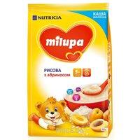 Фото Milupa Каша молочная рисовая с абрикосом, 210 г