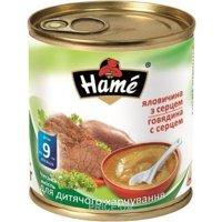 Фото Hame Пюре говядина с сердцем, с 8 мес. 100 г