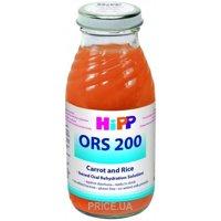 Фото Hipp Морковно-рисовый отвар ORS-200, 200 мл