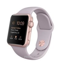 Фото Apple Watch Sport 38mm Rose Gold Aluminum Case with Lavender Sport Band (MLCH2)