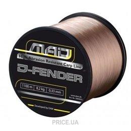 Фото DAM Mad D-Fender Carp Line (0.25mm 2000m 4.5kg)