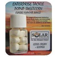 Фото Enterprise Tackle Искусственная кукуруза Pop Up Solar (Ester Cream+Scopex-White)