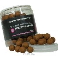 Фото Sticky Baits Бойлы The Krill Pop-Ups 12mm 100g