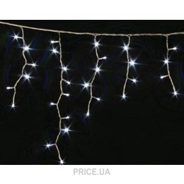 Фото Delux Icicle 126 LED (40LED flash) 2х0,9m белый/белый IP44 (10090100)