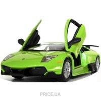 Фото Bburago Lamborghini Murcielago LP670-4 SV Зеленый, 1:24 (18-25096)