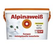 Цены на ALPINA Краска Alpina AlpinaWeiss Matt 10 л Дисперс, фото