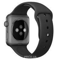 Фото Apple Black with Space Black Pin Sport Band для Watch 38mm MJ4F2