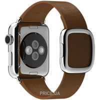 Фото Apple Brown Modern Buckle Large для Watch 38mm MJ562