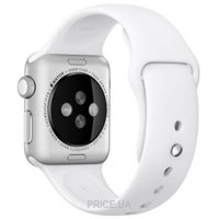 Фото Apple White Sport Band для Watch 42mm MJ4M2