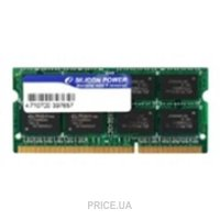 Фото Silicon Power 8GB SO-DIMM DDR3 1333MHz (SP008GBSTU133N02)