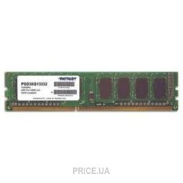 Фото Patriot 8GB DDR3 1333MHz (PSD38G13332)