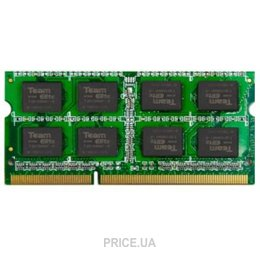 Фото TEAM 8GB SO-DIMM DDR3 1600MHz (TED38G1600C11-S01)