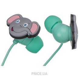 Наушник Наушники KitSound Doodles In-Ear Elefant (DDELEBUD)