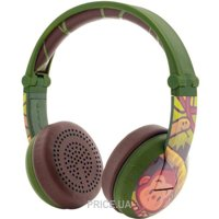 BuddyPhones Wave Monkey, Green (BT-BP-WV-MONKEY)